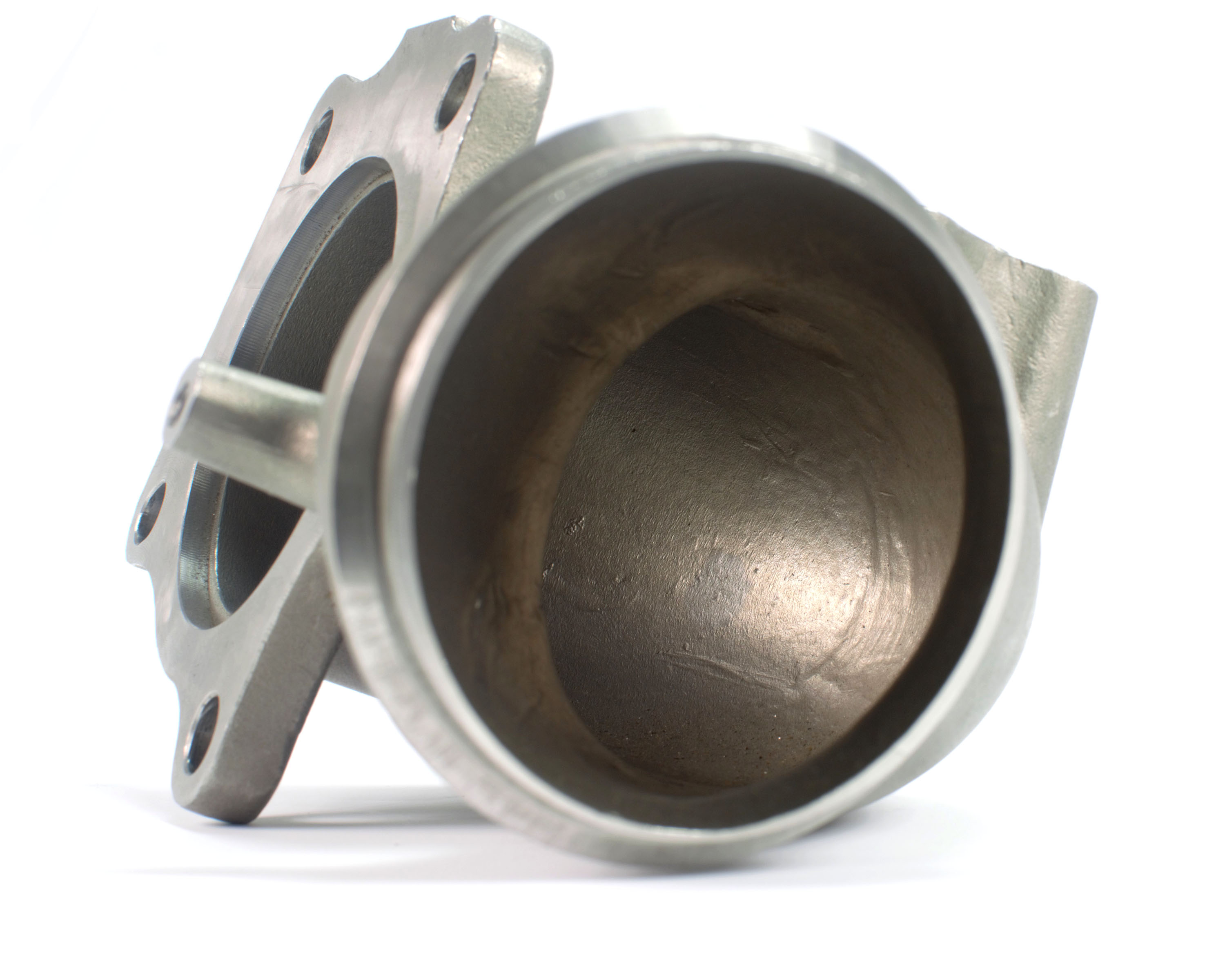 "Market leading 3.125"" bellmouth downpipe provides ample volume for hot exhaust gases to exit the turbo"