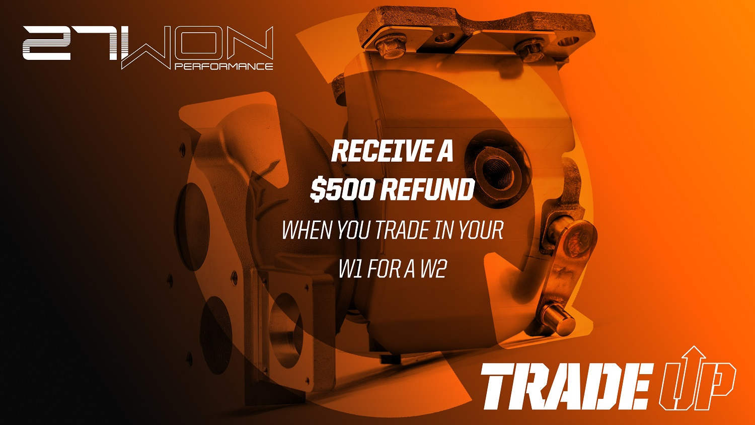 Get up to a $500 USD refund when you send us back your W1