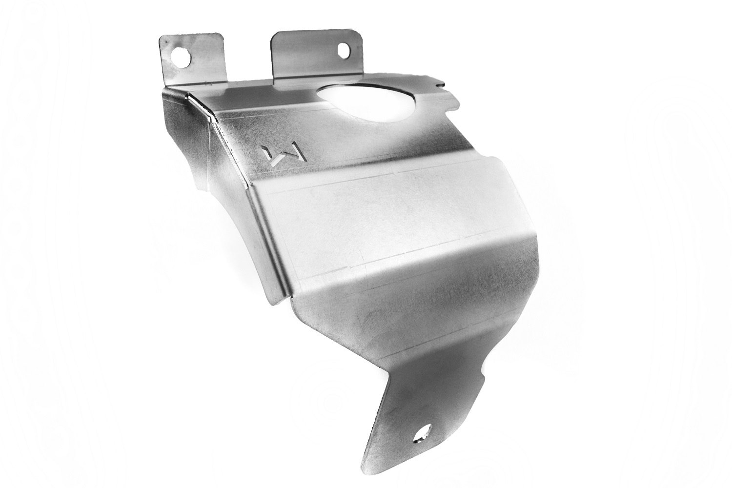 New T304 Stainless Steel heat shield is included