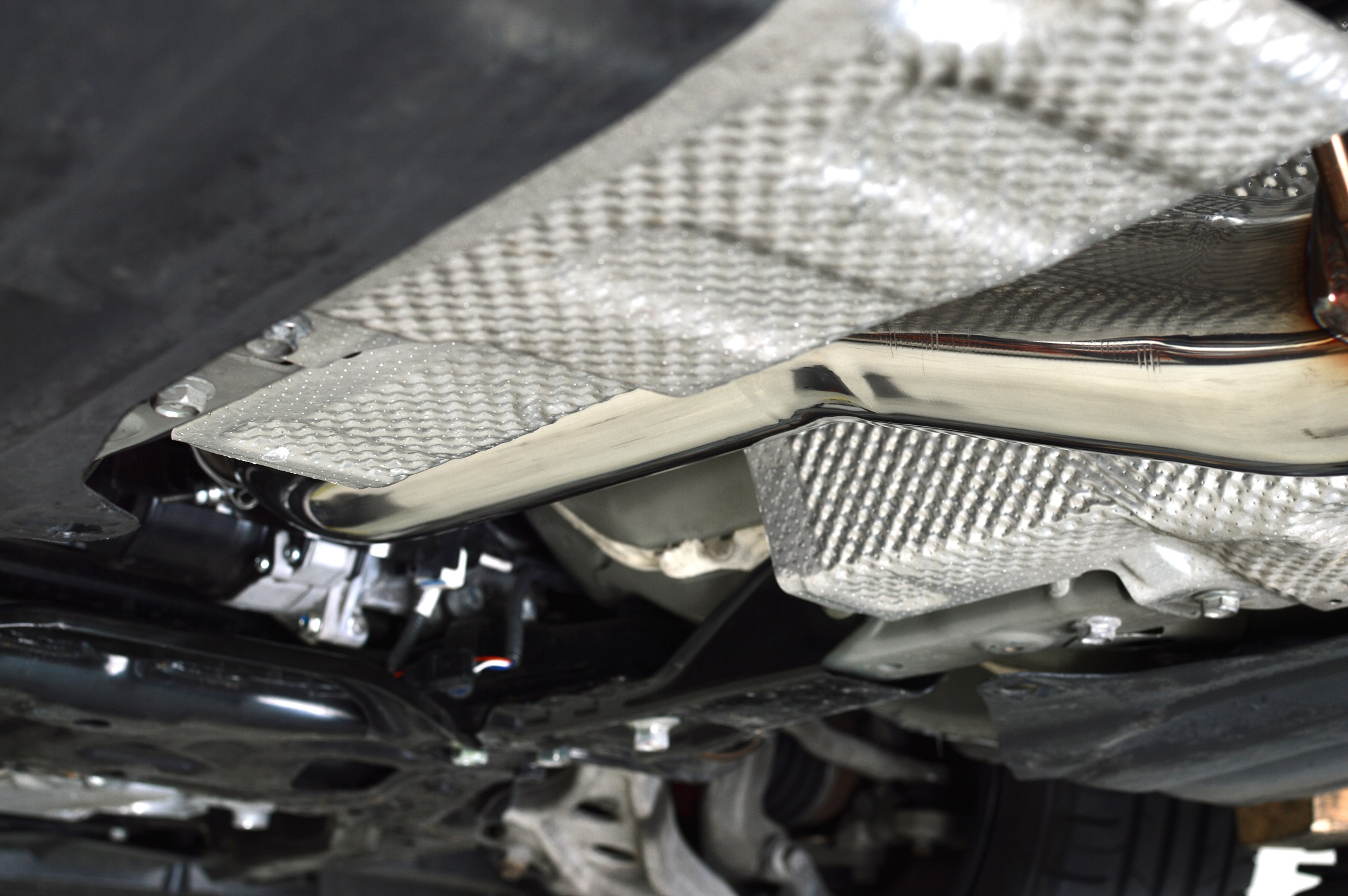 Clearance in all the right areas for your various under-car braces