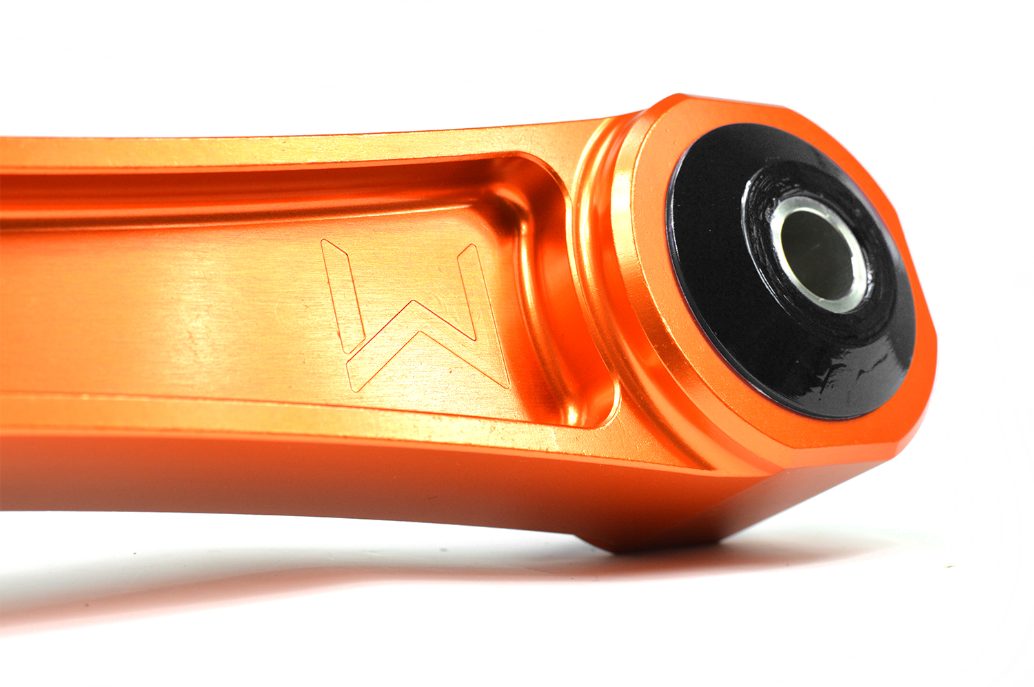 Vibrant orange anodized for corrosion resistance and great style in your engine bay