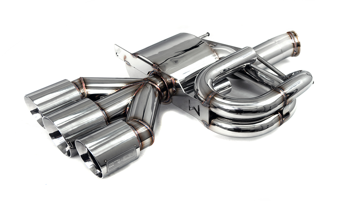 The most unique and artfully designed exhaust system for your FK8